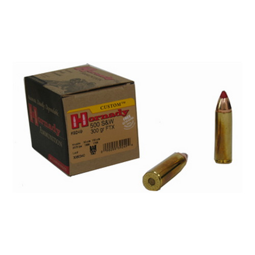 Hornady Hornady 500 Smith & Wesson by 500 S&W, 300 Gr, Evolution, (Per 20) 9249