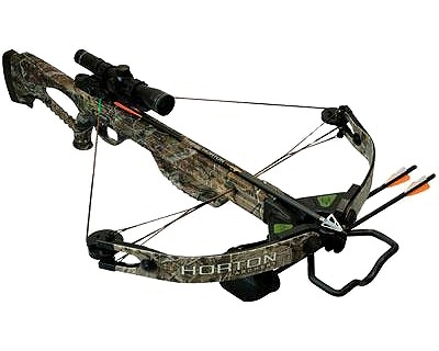 Horton Horton Brotherhood Crossbow w/Package, APG Camo CB305