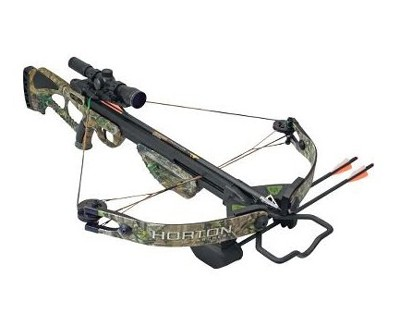 Horton Horton Bone Collector Crossbow w/Package, APG Camo CB315