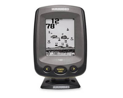 Humminbird Piranhamax 160 Dual Beam 600ft 160X128 Gray