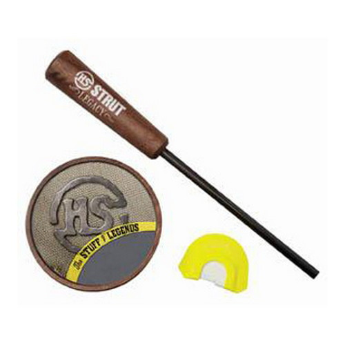 Hunter Specialties Hunter Specialties Friction Turkey Call Legacy Slate w/Diaphram Call 07015