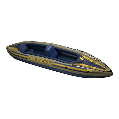 Intex Challenger Kayak Kit K2, 2 Person, Gear Net 68306E