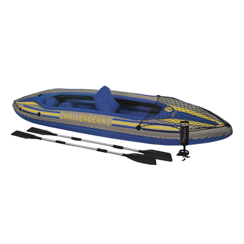 Intex Challenger Kayak Kit K2 Kayak Kit, GearNet
