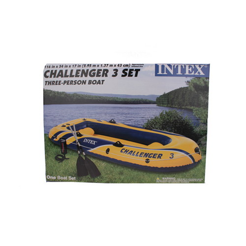 Intex Intex Challenger Boat Kit 3 68370EP