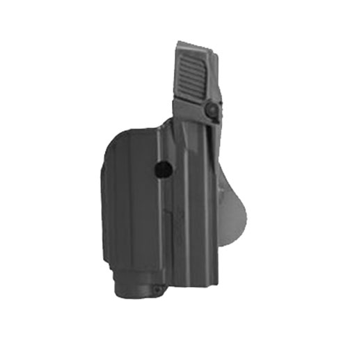 SigTac Retention Roto Paddle Holster, Level 2 SP2022 Black Polymer w/lIght