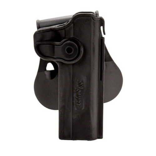 SigTac SigTac Retention Roto Paddle Holster 1911 Railed/Non-Railed HOL-RPR-1911R-BLK