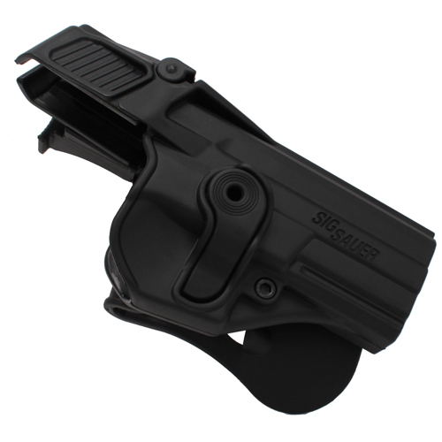 SigTac SigTac Retention Roto Paddle Holster, Level 3 SP2022, Black HOL-RPR-2022-LVL3-BLK