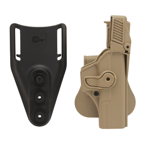 SigTac SigTac Retention Roto Paddle Holster, Level 3 Glock 17, 22, 31, 34, 35 Tan HOL-RPR-GK17-LVL3-TAN