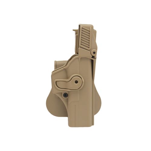 SigTac SigTac Retention Roto Paddle Holster, Level 3 Glock 19, 23, 25, 32, Tan HOL-RPR-GK19-LVL3-TAN