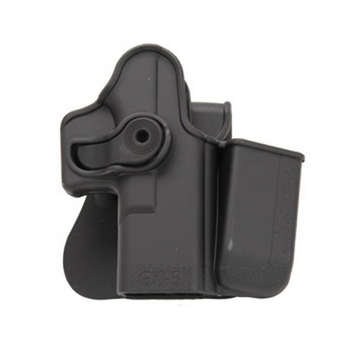 SigTac SigTac Retention Roto Paddle Holster w/Mag Pouch All Glock 9mm/40S&W/357SIG HOL-RPR-IMP-GK3