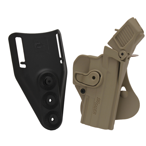 SigTac Retention Roto Paddle Holster, Level 3