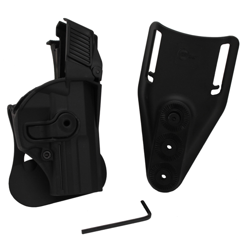 SigTac Retention Roto Paddle Holster  USP Compact 9mm/40 LEVEL 3 Black