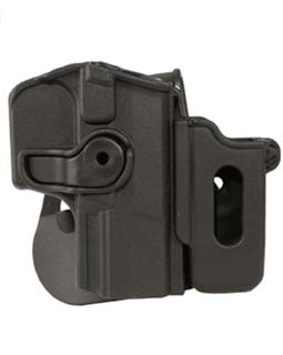 SigTac SigTac Roto Retention Paddle Holster Fits Walther Fits P99, w/Removable Mag Pouch ITAC-WAL99MP