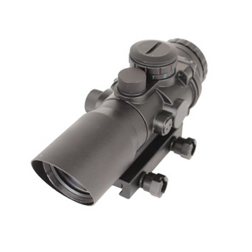 SigTac SigTac Compact Prismatic Rifle Scope 3x Illuminated Reticle Red/Green BDC SCOPE-CP1