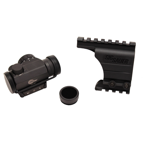 SigTac Bridge Mount for SIG Pistol Rail w/Mini Red Dot Sight
