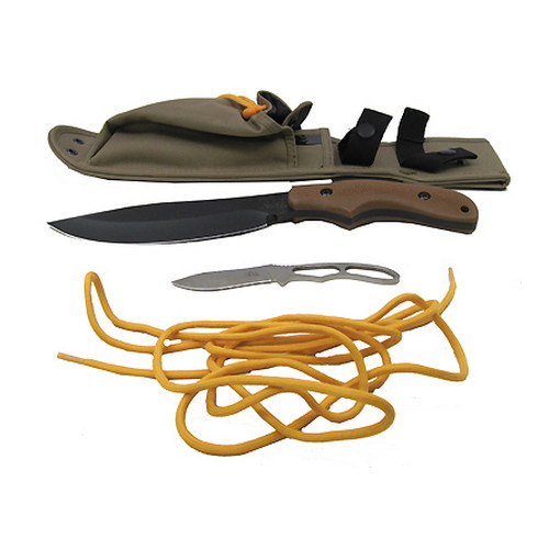 Ka-Bar Ka-Bar Johnson Adventure Knife Pot Belly, Polyester Sheath 2-5600-4