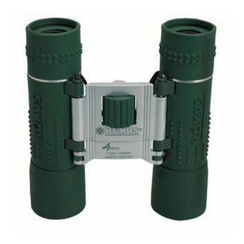 Konus Optical & Sports System Konus Optical & Sports System Green Rubber, Ruby Coating Binocular 10x25 2032