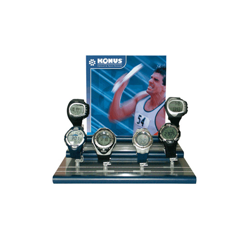 Konus Optical & Sports System Konus Optical & Sports System Sport Watch Kit Oudoor +1 Wooden Display 4996