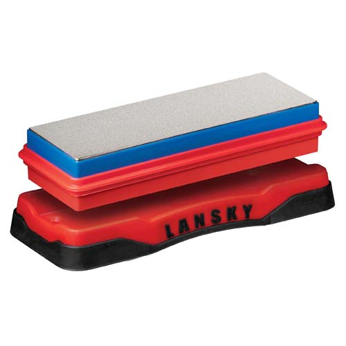 Lansky Sharpeners Lansky Sharpeners Double-Sided Diamond Bench Stone Coarse/Fine DB-1260