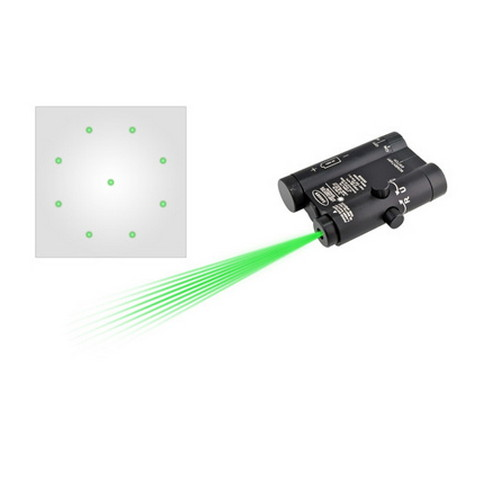 LaserLyte Kryptonyte Center Mass Laser Green