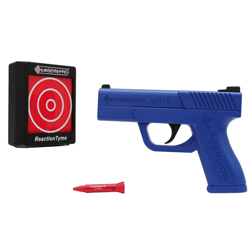 LaserLyte LaserLyte Training Tyme Kit: Laser, Pistol, Reaction Tyme Target TLB-RTK