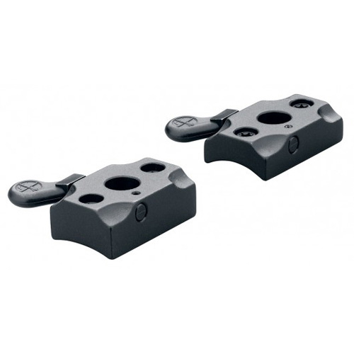 Leupold Quick Release Two Piece Base Steyr SBS,  Classic Mann,  Matte Black