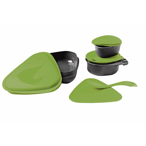 Light My Fire Light My Fire Outdoor Meal Kit Green Apple S-MK-BLISTER-T-GREEN