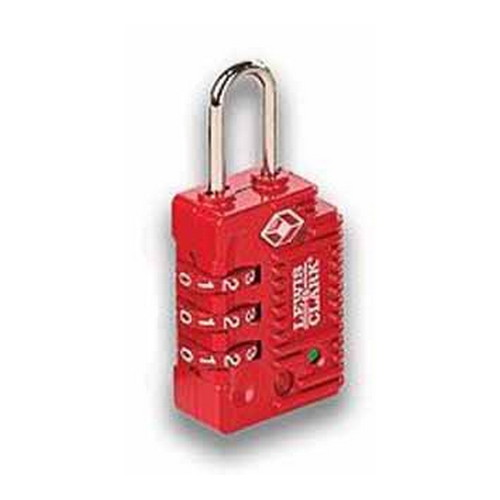 Humangear Travel Sentry Combo Lock, Large Red