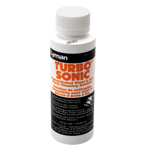 Lyman Lyman Turbo Sonic Cleaning Solution Gun Parts, 4 oz. 7631712
