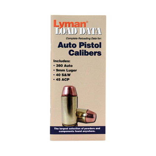Lyman Lyman Load Data Book Semi-Auto 9780004