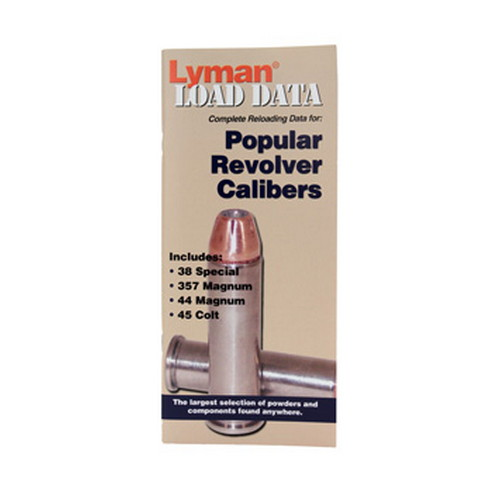 Lyman Load Data Book Revolver