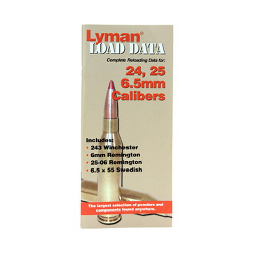 Lyman Lyman Load Data Book 24, 25, 6.5mm 9780010