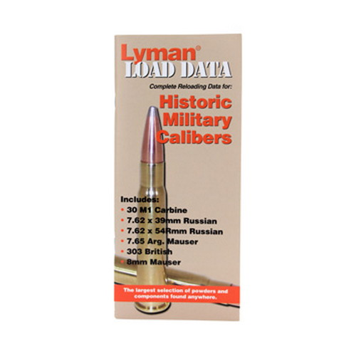 Lyman Lyman Load Data Book Old Military Calibers 9780016