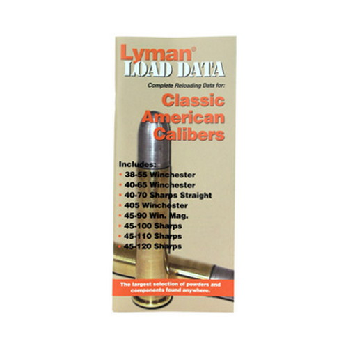Lyman Lyman Load Data Book Classic Rifle Calibers 9780020