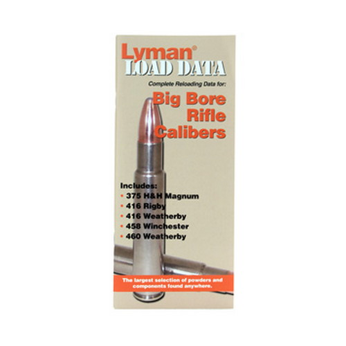 Lyman Lyman Load Data Book Big Bore Rifle 9780022