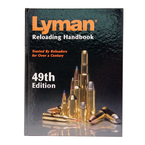 Lyman Reloading Book 49th Edition Hard Cover