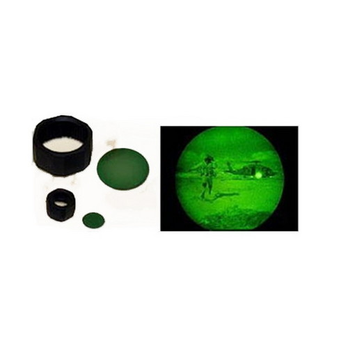 Maglite Maglite NVG Lens AA with Holder Green 108-000-614
