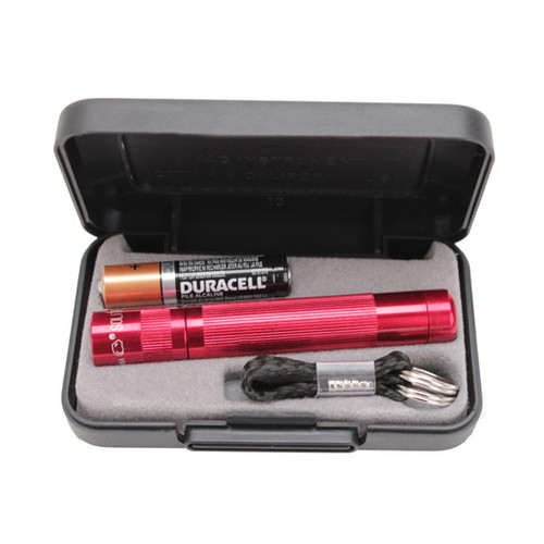 Maglite Maglite Solitaire LED Flashlight 1AAA, Red J3A032