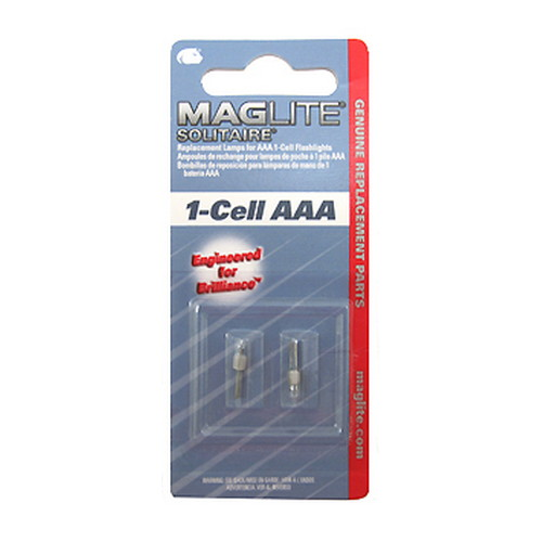 Maglite Maglite Replacement Bulb Solitaire (2 Pack) LK3A001