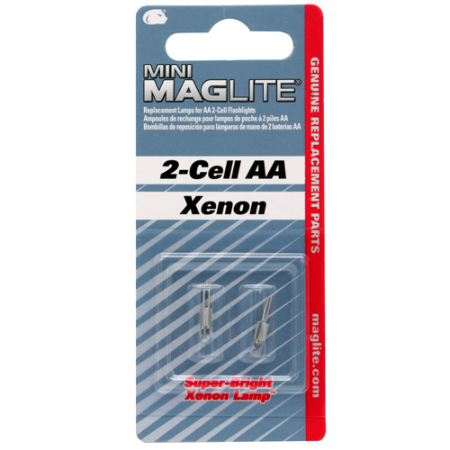 Maglite Maglite Replacement Bulb AA Mini-Mag (2 Pack) LM2A001