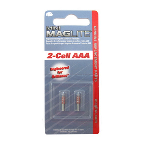 Maglite Maglite Replacement Bulb AAA Mini-Mag (2 Pack) LM3A001