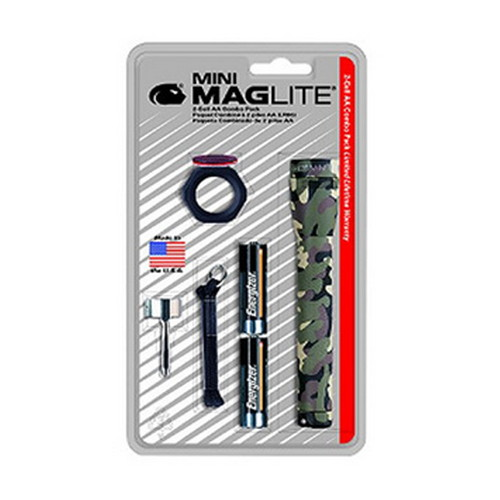 Maglite Maglite Mini-Mag Flashlight AA Combo Blister Pack, Camo M2A02C