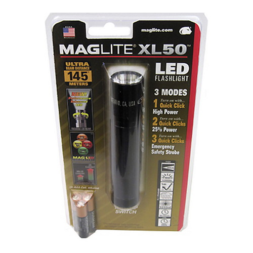 Maglite XL50 LED Light Black
