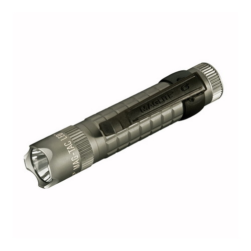 Maglite Maglite Mag-Tac Light Urban Grey, Blister Pack, Scalloped Head SG2LRC6