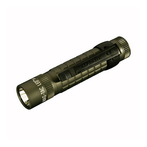 Maglite Maglite Mag-Tac Light Foilage Green, Blister Pack, Non-Scalloped Head SG2LRF6