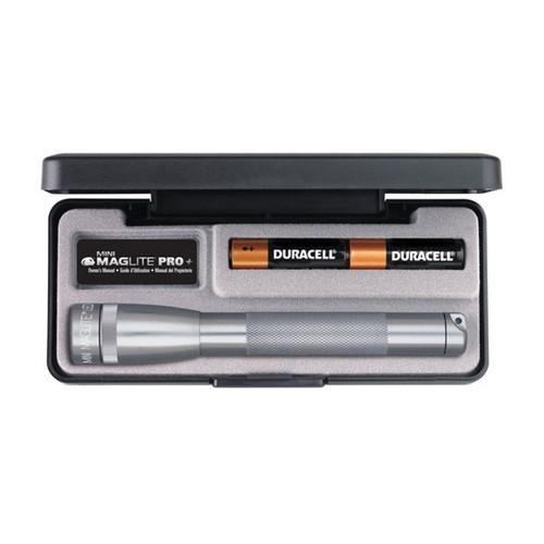 Maglite Maglite Mini Mag LED Pro + Gray, Presentation Box SP+P097
