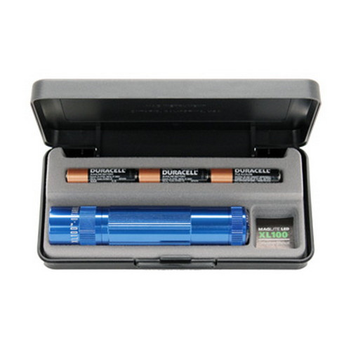 Maglite Maglite XL100 3-Cell AAA LED Display Box, Blue XL100-S3117