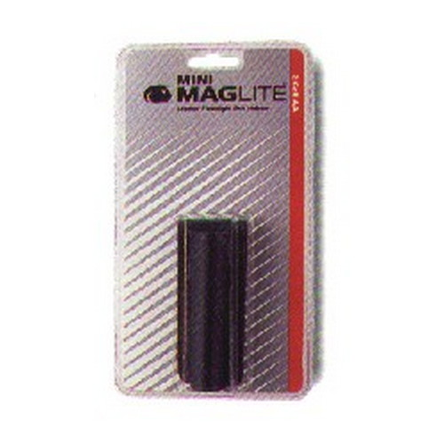 Maglite Mini Mag Accessories, Leather Holster AA (Black)