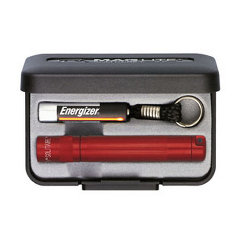 Maglite Solitaire Flashlight AAA in Presentation Box (Red)