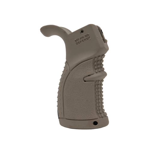Mako Group Mako Group Rubberized Ergonomic Pistol Grip for AR15 Dark Earth AGR-43-DE
